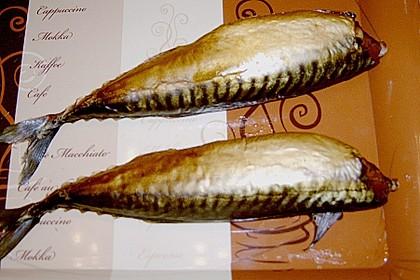 Fisch heiß räuchern 3