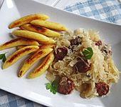 Sauerkraut mit Mettwurst (Bild)