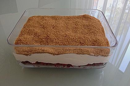 Himbeer - Sahne - Joghurt - Traumdessert (Bild)