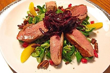 Feldsalat mit Entenbrust 1