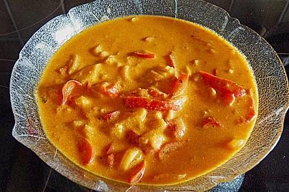 Spiralnudeln mit Paprika - Tomaten - Sauce 1