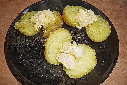 Kartoffeln mit Goudacreme