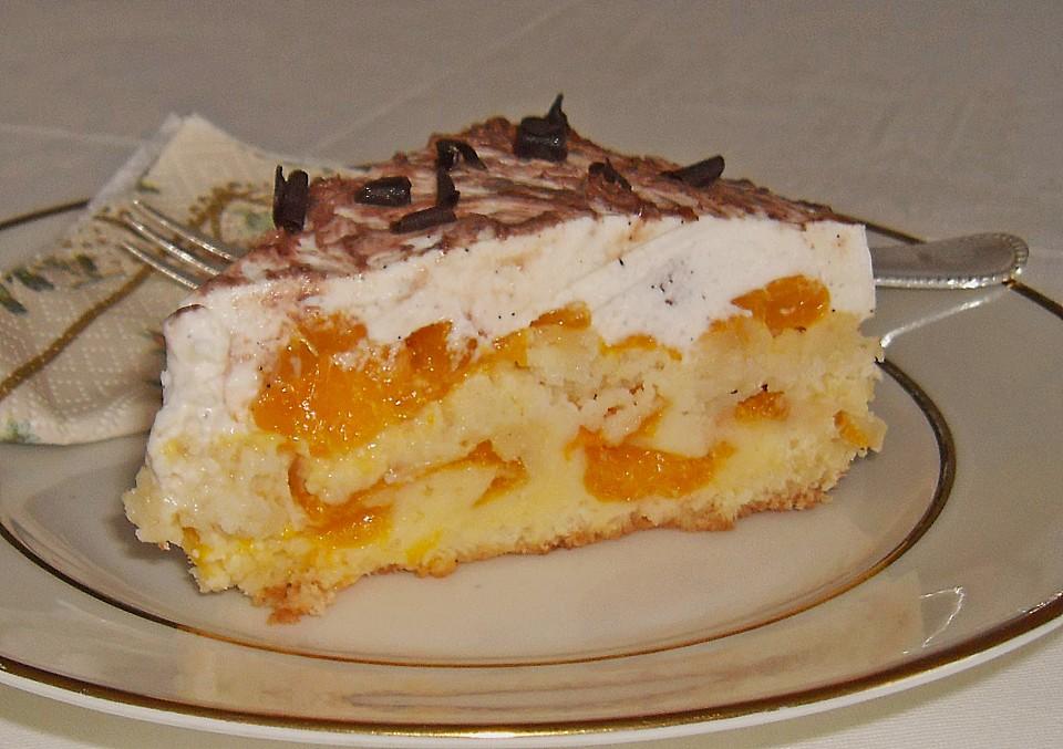 Mandarinen Schmand Torte Von Kathawillwas Chefkoch De