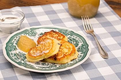 Katrins Quarkkeulchen ohne Kartoffeln