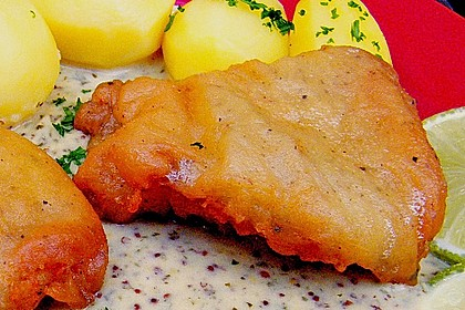 Backfisch in Bierteig 2