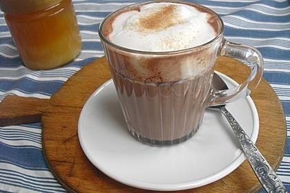 Heißer Kakao mit Honig und Zimt 1