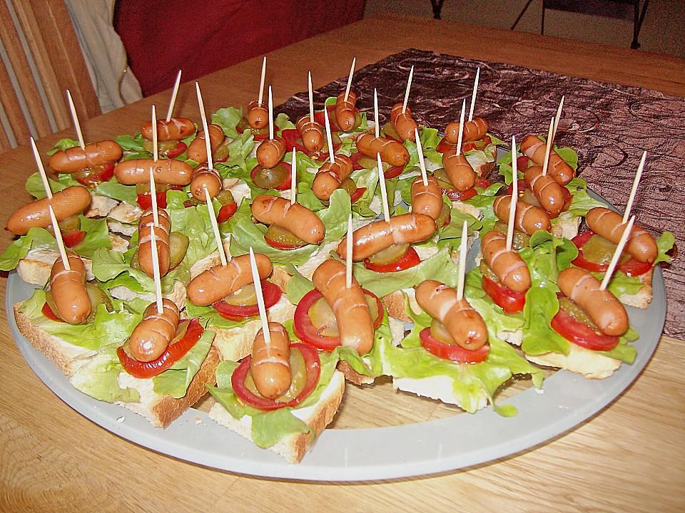 Hotdog Spiesschen Von Laabertasche Chefkoch De