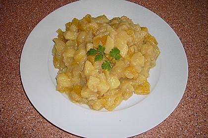 Deftiger Kartoffel - Kürbis - Eintopf