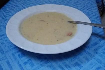 Kohlrabi - Rahmsuppe