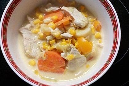 Bunte Suppe