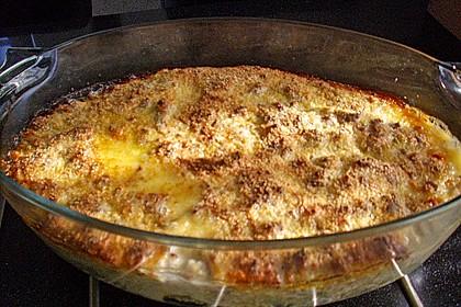 Rosenkohlauflauf mit Hackfleisch und Kartoffeln 20