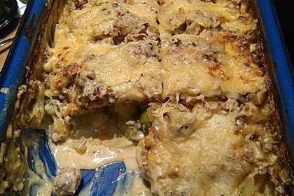 Rosenkohlauflauf mit Hackfleisch und Kartoffeln 19