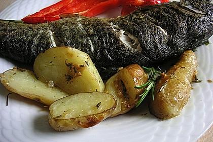 Rosmarin - Backofenkartoffeln 2