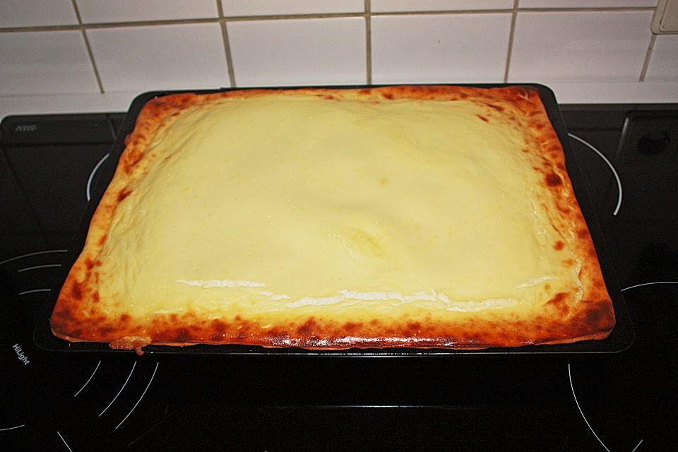 Kase Kirsch Kuchen Vom Blech Von 7schweinoldi20 Chefkoch De