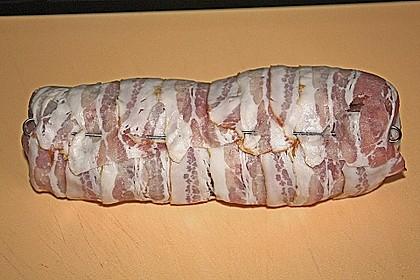 NT - Schweinefilet im Speckmantel mit Champignons und Spätzle 40