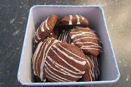 Nusskekse mit Kakao 3