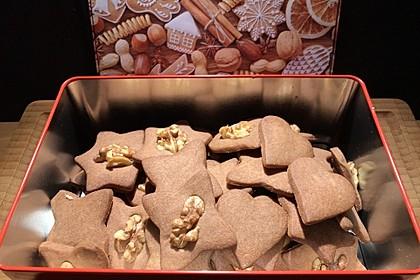 Nusskekse mit Kakao 1