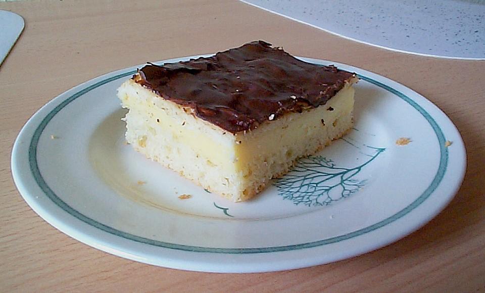 Puddingkuchen Vom Blech Von Lissa Chefkoch De