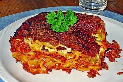 Würzige Lasagne