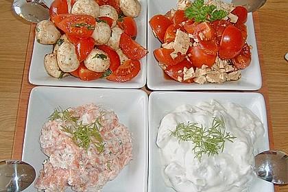 Tomaten - Schafskäsesalat 1