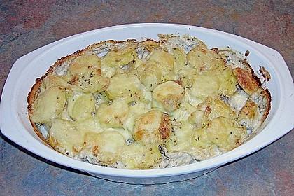 Überbackene Kräuter - Kartoffeln 2