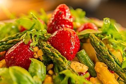 Spargel-Erdbeersalat 2