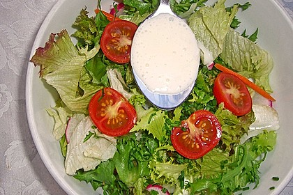 Dressing für Blattsalat 11