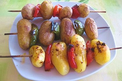 Kartoffelspieße 6