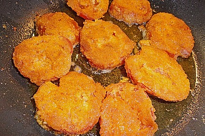 Panierte Tomaten