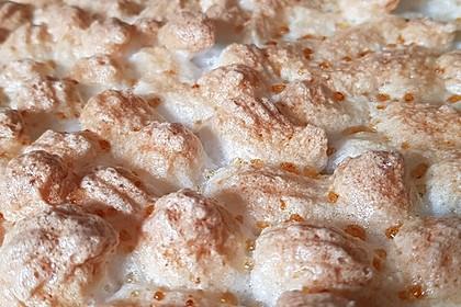 Rhabarberkuchen mit Vanillepudding und Baiser 18