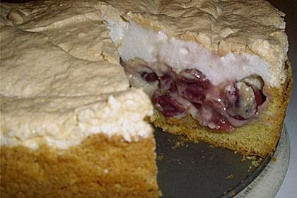 Rhabarberkuchen mit Vanillepudding und Baiser 27