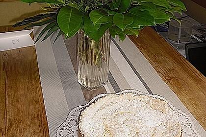 Rhabarberkuchen mit Vanillepudding und Baiser 23