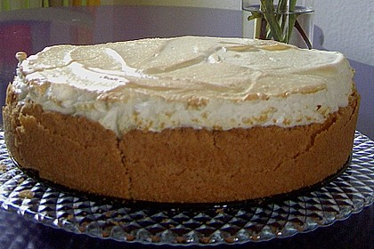 Rhabarberkuchen mit Vanillepudding und Baiser 28