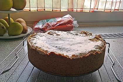 Rhabarberkuchen mit Vanillepudding und Baiser 25