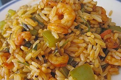 Dominikanisches Krabben - Reisgericht