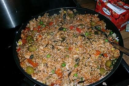 Dominikanisches Krabben - Reisgericht 1
