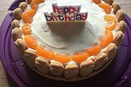 Mandarinen Philadelphia Torte 2