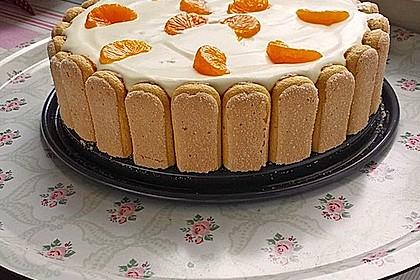 Mandarinen Philadelphia Torte 10