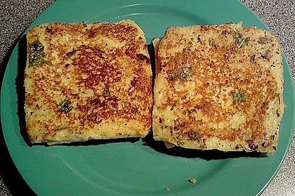 Gefüllte Toasts aus der Pfanne 3