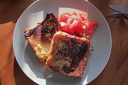 Gefüllte Toasts aus der Pfanne 8