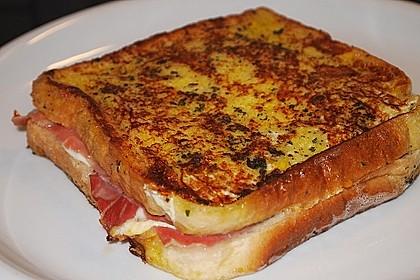 Gefüllte Toasts aus der Pfanne 1