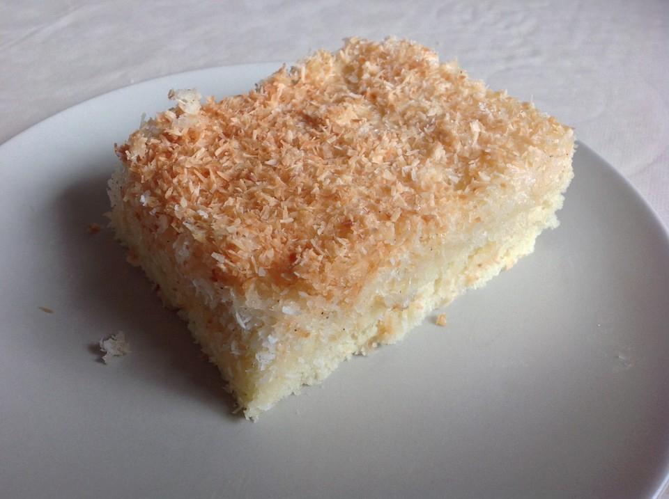 Kokoskuchen Fur Ein Backblech Von Mopsi Chefkoch De
