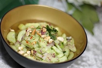 Asiatischer Gurkensalat 2