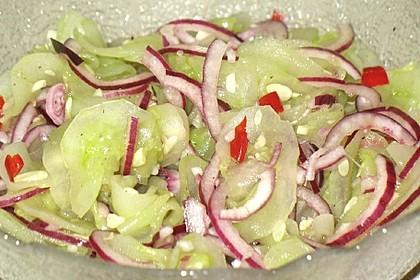 Asiatischer Gurkensalat 6