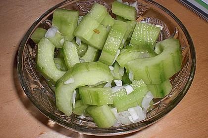 Asiatischer Gurkensalat 11