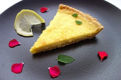 Französische Zitronentarte 5