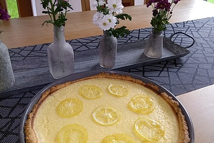 Französische Zitronentarte 32