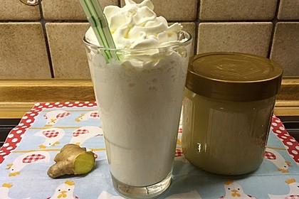 Heiße Ingwer - Vanille - Milch