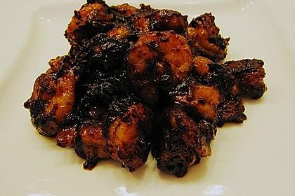 BBQ Garnelen in Honig - Senf - Sauce 14