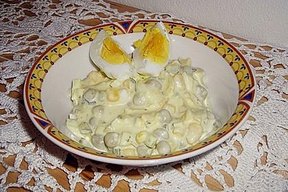Eiersalat mit Erbsen 5
